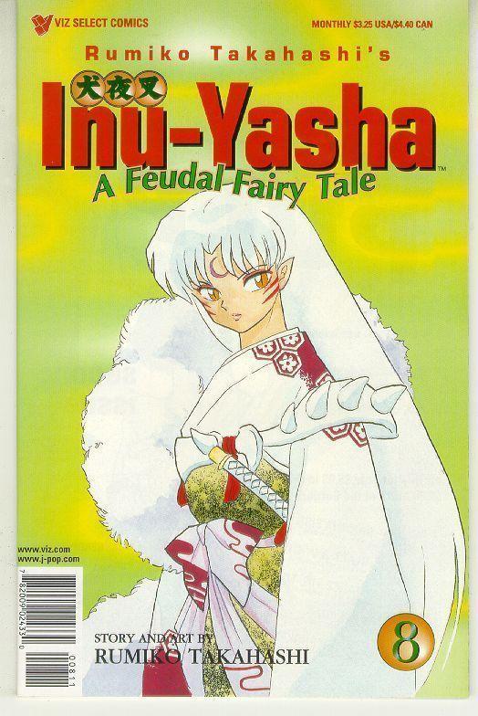 INU-YASHA #8 (Viz) NM!