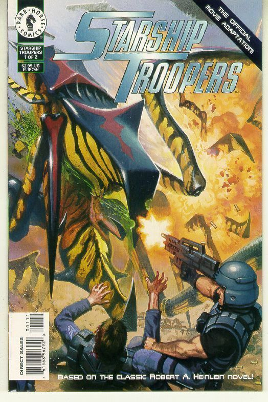STARSHIP TROOPERS #1 (1997) NM!