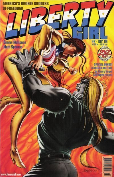 LIBERTY GIRL #2 (Heroic Publishing) NM!