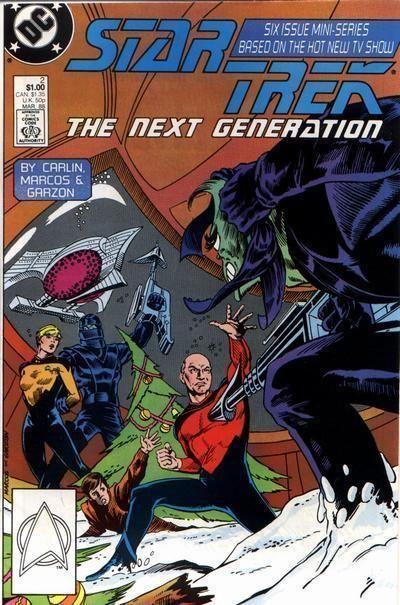 STAR TREK NEXT GENERATION #2 (DC Comics, Mini-Series) NM!