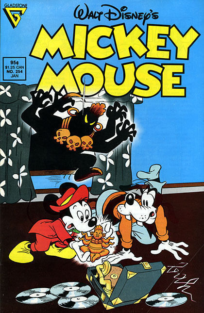 MICKEY MOUSE #254 (Gladstone) NM!