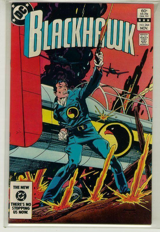BLACKHAWK #264 (DC Comics, 1983) NM!