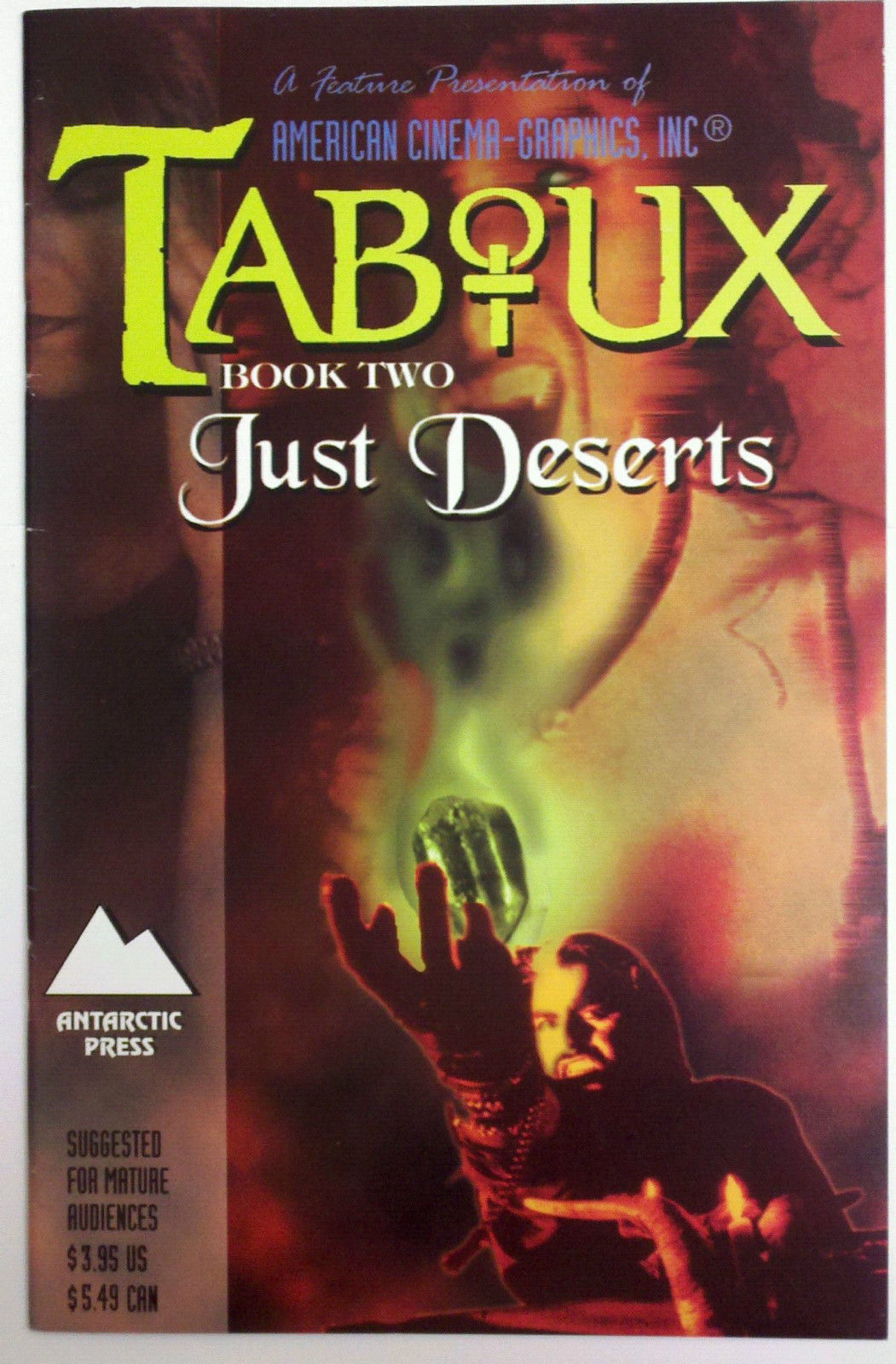 TABOUX BOOK TWO (Antarctic Press, 1996)