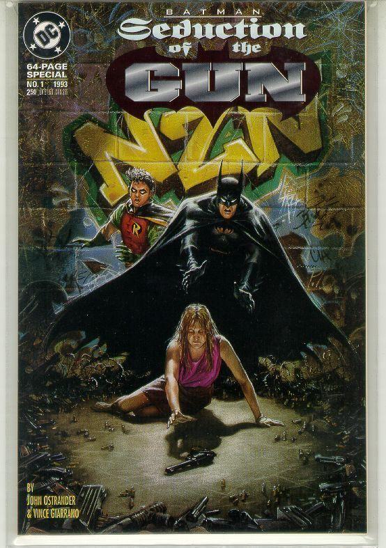 BATMAN: SEDUCTION of the GUN #1 (1993) NM!