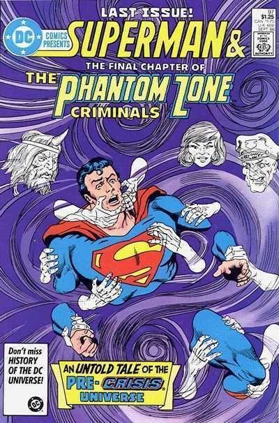 DC COMICS PRESENTS #97 NM! ~ SUPERMAN & PHANTOM ZONE CRIMINALS