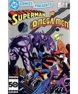 DC COMICS PRESENTS #89 NM! ~ SUPERMAN & OMEGA MEN - $4.00