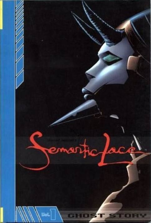 SEMANTIC LACE VOL. 1: GHOST STORY GN (Image Comics, 2003) NM!