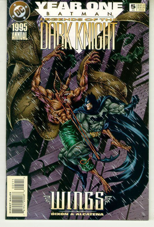 BATMAN LEGENDS OF THE DARK KNIGHT ANNUAL #5 (DC Comics, 1995) NM!