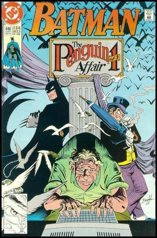 BATMAN #448 (1990) NM!
