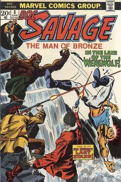 DOC SAVAGE #8 (Marvel Comics, 1972 Series)