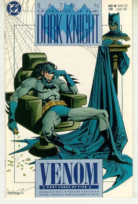 BATMAN LEGENDS OF THE DARK KNIGHT #18 (DC Comics) NM!