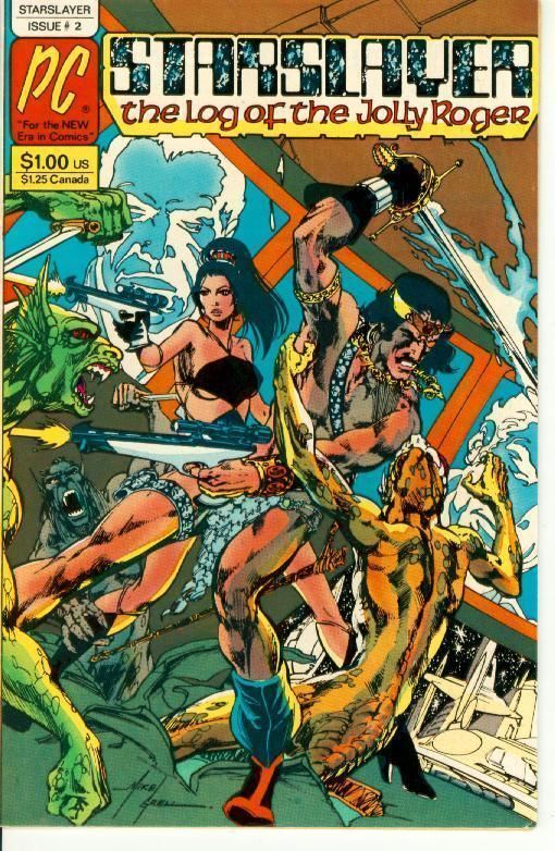 STARSLAYER #2 (Pacific Comics, 1982) ~ 1st Appearance of the Rocketeer!