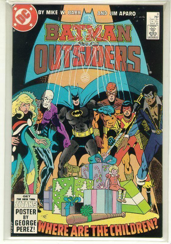 BATMAN and the OUTSIDERS #8 (DC Comics, 1983 Series) NM!