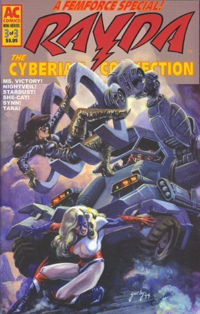 RAYDA: THE CYBERIAN CONNECTION #3 (AC Comics) NM!