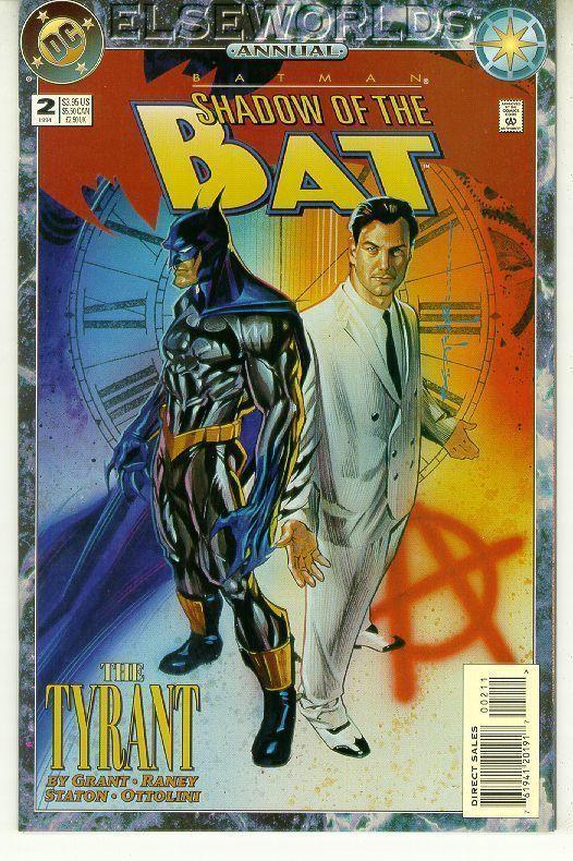 BATMAN SHADOW OF THE BAT ANNUAL #2 (DC Comics, 1994) NM!
