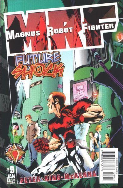 MAGNUS ROBOT FIGHTER #9 (Acclaim) ~ NM!