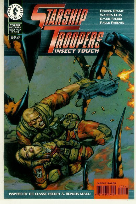 STARSHIP TROOPERS: INSECT TOUCH #2 (1997) NM!