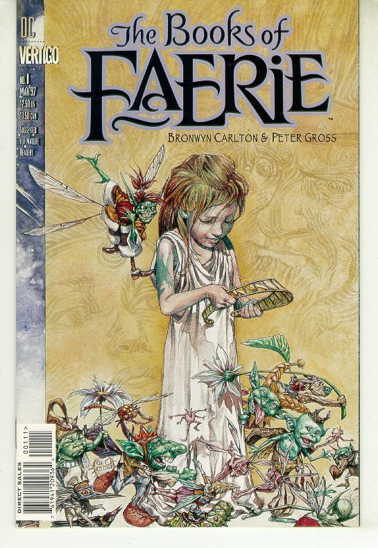 BOOKS of FAERIE #1 (Vertigo) NM!