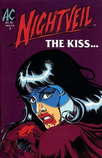 NIGHTVEIL #3 (AC Comics, 1984 Series) NM!