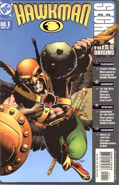 HAWKMAN SECRET FILES and ORIGINS #1 (2002) NM!