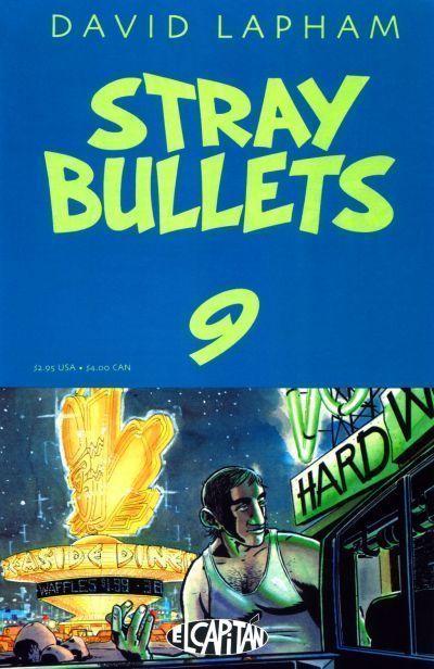 STRAY BULLETS #9 NM! ~ David Lapham