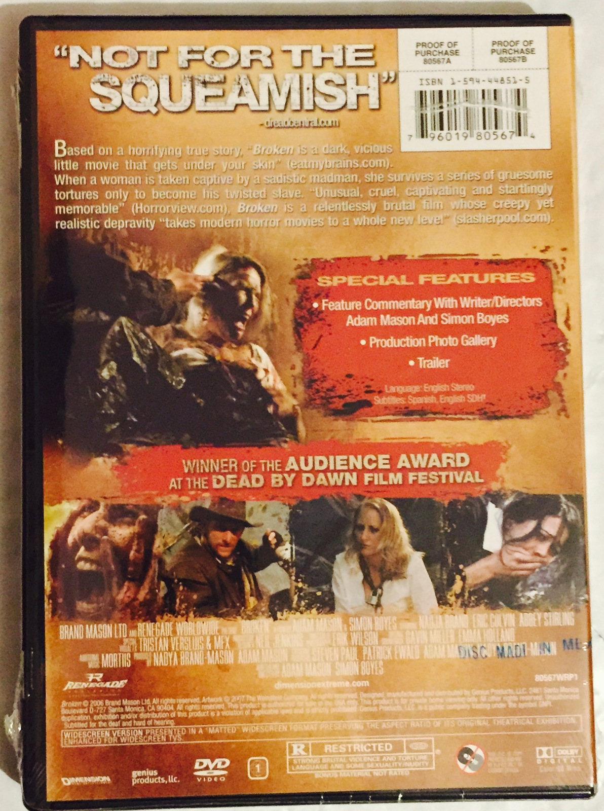 Broken: No One Can Save You [DVD ~ Brand New]