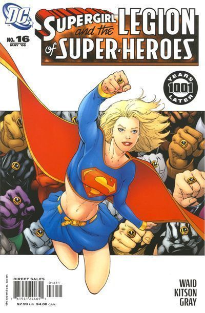SUPERGIRL and the LEGION of SUPER-HEROES #16 NM!