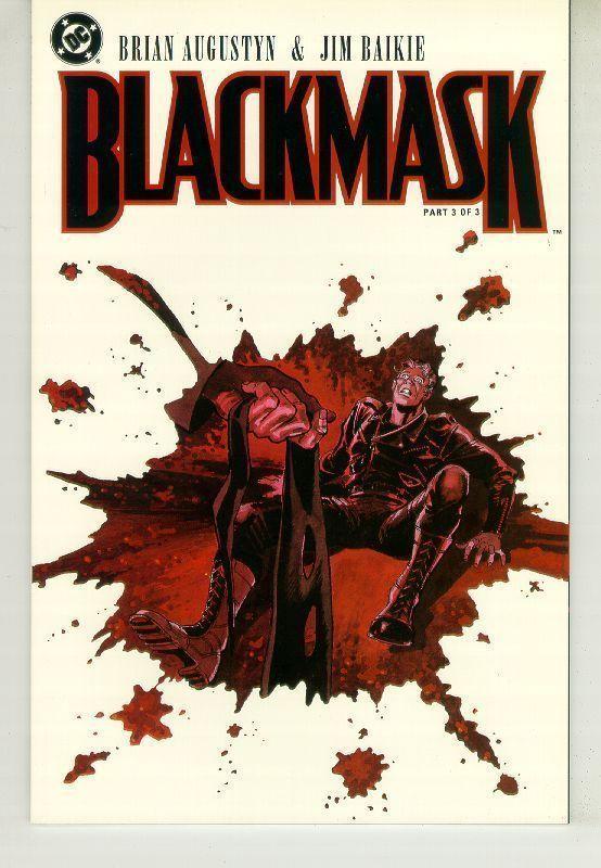 BLACKMASK #3 (DC Comics) NM!
