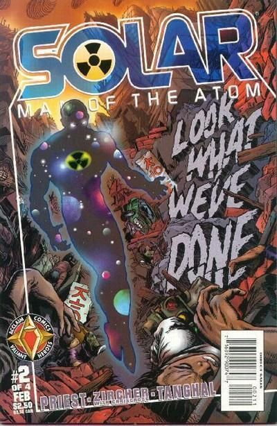 SOLAR, MAN OF THE ATOM - HELL ON EARTH #2 (Acclaim Comics) NM!