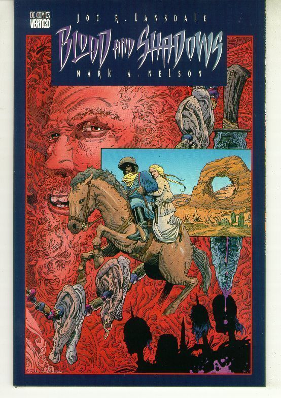 BLOOD and SHADOWS #2 (Vertigo, 1996) NM!