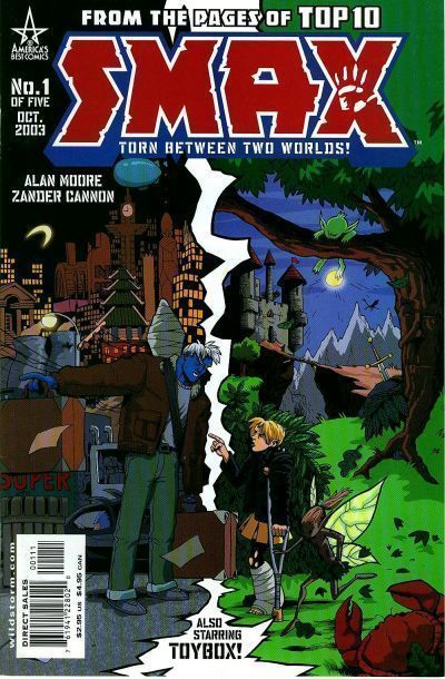 SMAX #1 NM! ~ Alan Moore