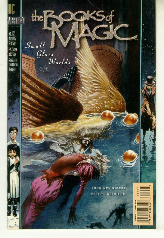 BOOKS of MAGIC #12 (Vertigo) NM!