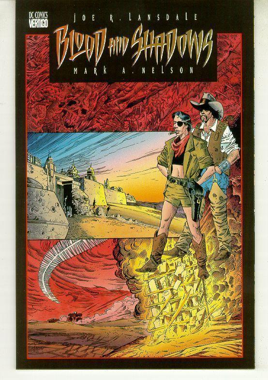 BLOOD and SHADOWS #3 (Vertigo, 1996) NM!