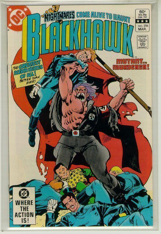 BLACKHAWK #256 (DC Comics, 1983) NM!