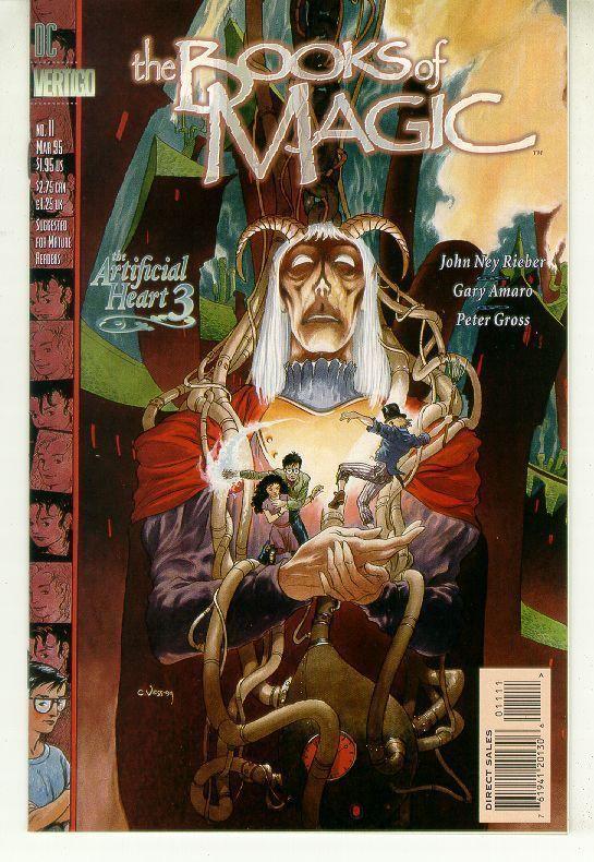 BOOKS of MAGIC #11 (Vertigo) NM!