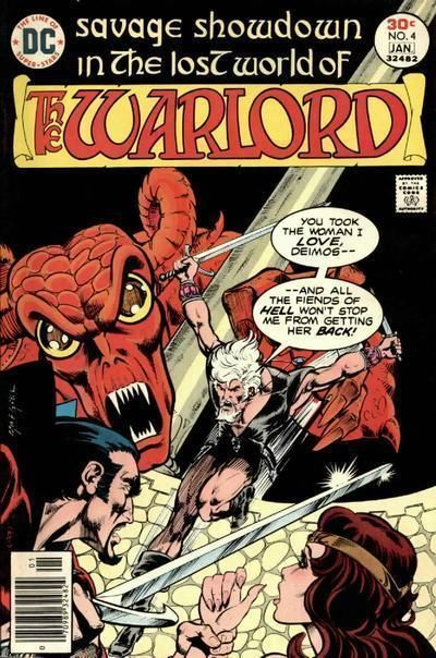 WARLORD #4 (1976 Series)
