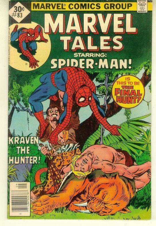 MARVEL TALES #83 Whitman Variant ~ SPIDER-MAN