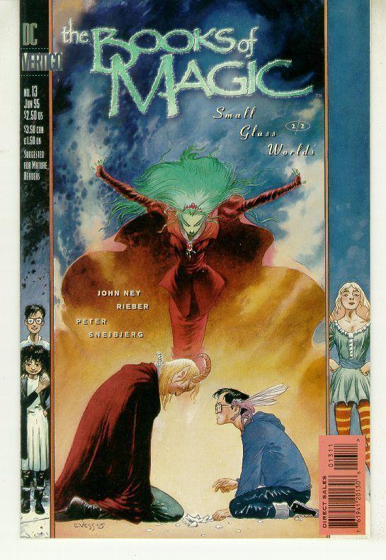 BOOKS of MAGIC #13 (Vertigo) NM!