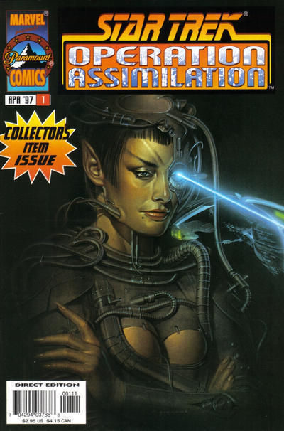 STAR TREK: OPERATION ASSIMILATION #1 (Marvel Comics, 1997) NM!