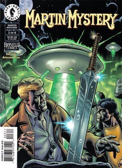 MARTIN MYSTERY #3 (Dark Horse Comics)
