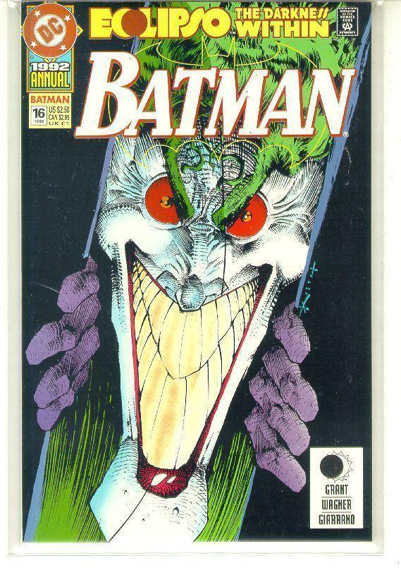 BATMAN ANNUAL #16 (1992) NM!