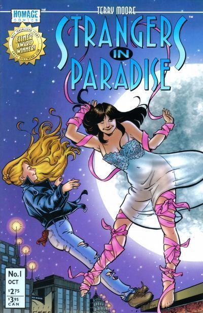 STRANGERS IN PARADISE #1 (Homage Studios, 1996 Series) NM!