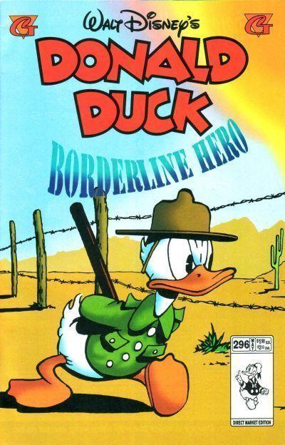 DONALD DUCK #296 (Gladstone) NM!