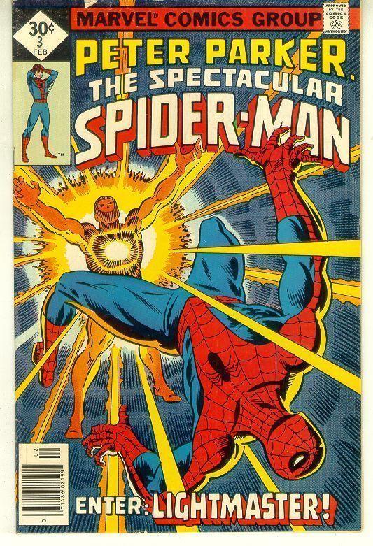 SPECTACULAR SPIDER-MAN #3 (1976 Series)