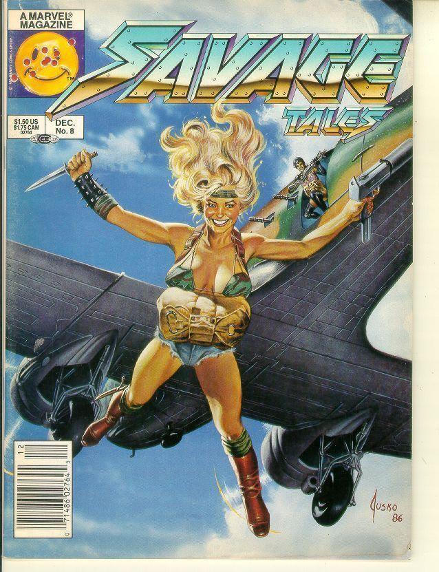 SAVAGE TALES #8 (Marvel Comics, 1985 Series)