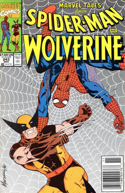MARVEL TALES #243 NM! ~ SPIDER-MAN