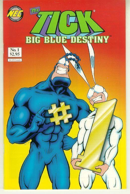 TICK: BIG BLUE DESTINY #1 Variant NM!