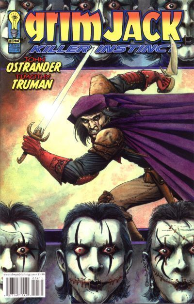 GRIMJACK: KILLER INSTINCT #4 (IDW, 2005) NM!