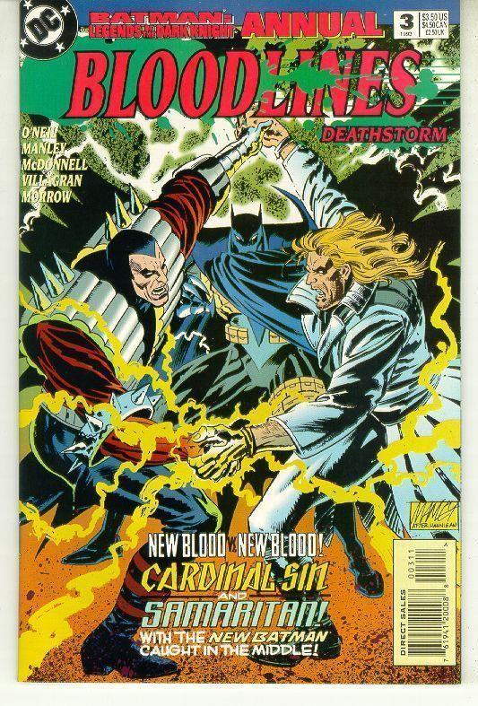 BATMAN LEGENDS OF THE DARK KNIGHT ANNUAL #3 (DC Comics, 1993) NM!