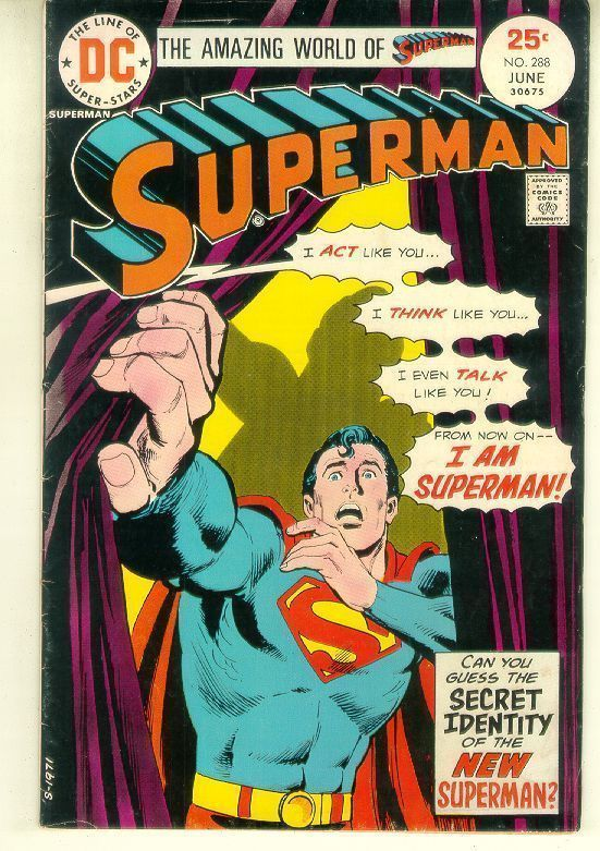SUPERMAN #288 (1975)